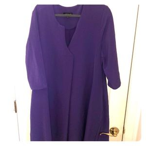 Lane Bryant Purple Dress